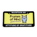 License Plate - Maintain an Attitude of Grattitude