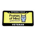 License Plate - Proud Veteran