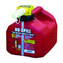 No-Spill Gasoline Cans - 1.25 Gallon Gasoline Can