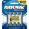 Alkaline AA Battery, 4 Pack