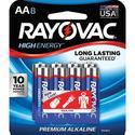 Alkaline AA Battery, 8 Pack