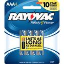 Alkaline AAA Battery, 4 Pack