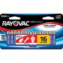 Alkaline AAA Battery, 16 Pack
