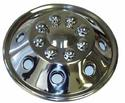 Namsco Stainless Steel Wheel Cover, Single - 16