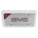 Chrome GMC License Plate