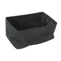 Shallow Storage Tote, Large - Charcoal