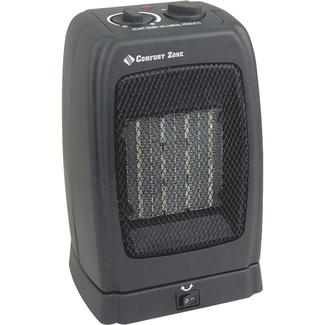 comfort zone oscillating ceramic heater - Energy Efficient Space Heater