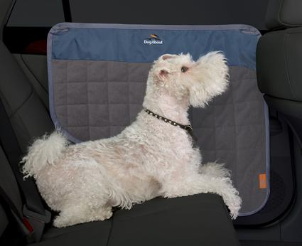Dog About Vehicle Door Protector
