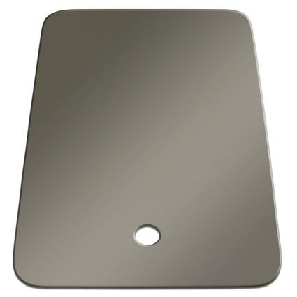 Small Sink Cover - Stainless Steel Color