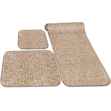 Decorian 3-Piece RV Rug Set - Butter Pecan