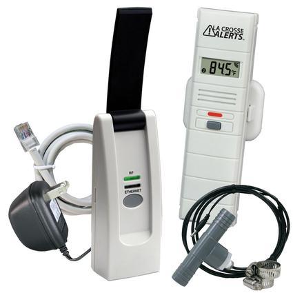Hot Tub Kit Temperature & Humidity Sensor with Threaded Wet Probe & Tee Adapter
