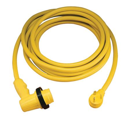 30 Amp Right Angle Locking RV Cordset - 30'