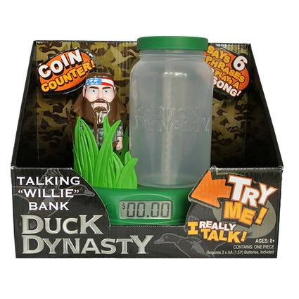 Duck Dynasty Counting Bank