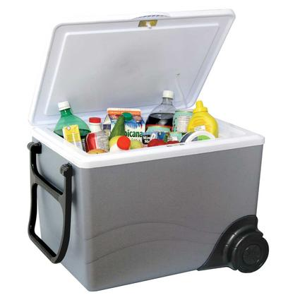 Kool-Kaddy Wheeled 12V Cooler / Warmer - 57 Can Capacity
