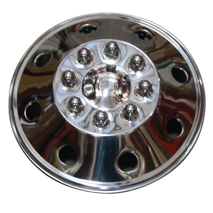 Namsco Stainless Steel Wheel Cover, Single - 16.5