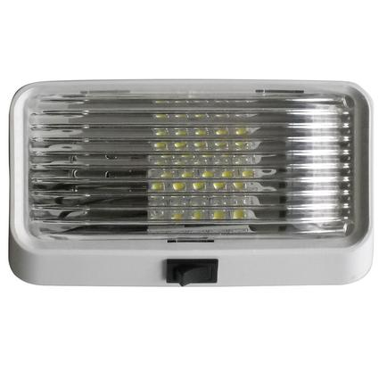 LED Porch Light - Clear Lens