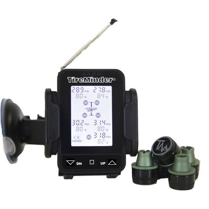 TireMinder TM55 Wireless Tire Pressure Monitoring System, For Brass or Stainless Steel Valve Stems