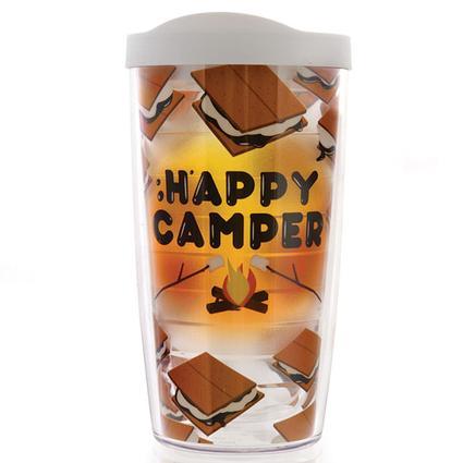 Happy Camper Smores Tumblers, 16 oz.