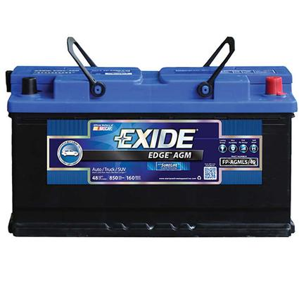 Exide AGM Battery - Group L5/49 - Automotive