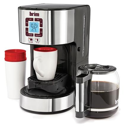 BRIM Size-Wise Programmable Coffeemaker