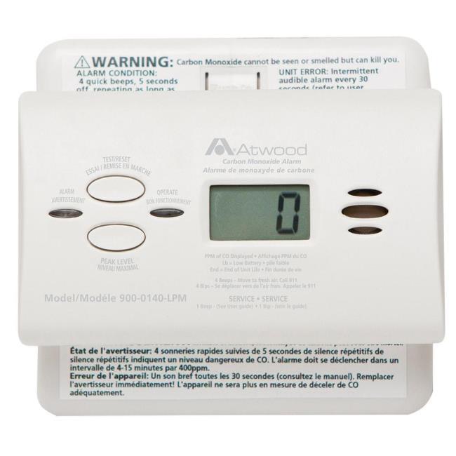 atwood co alarm dometic 32703 carbon monoxide camping world rh campingworld com K&N Cob B Atwood Carbon Monoxide Alarm Atwood LP Gas Detector
