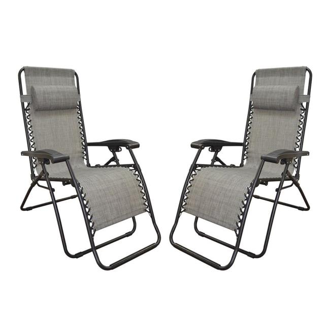 Image Zero Gravity Recliner, Gray   2 Pack. To Enlarge The Image, Click .