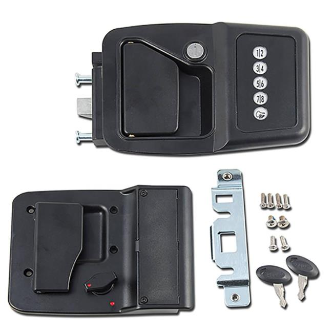 Image Electric Motorhome Door Lock. To Enlarge the image click or press Enter .  sc 1 st  C&ing World & Electric Motorhome Door Lock - AP 013-531 - Entry Door Hardware ...
