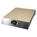 Man Law Pizza Stone Grill with Thermometer