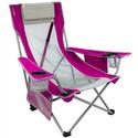 Pink Beach Sling Chair