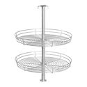 Double Tier Round Lazy Susan