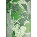 Blossom Green Gray Reversible Patio Mat, 8' x 20'