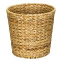 Banana Leaf Wicker Trash Can