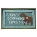 Loyal Companion Doormat, 18