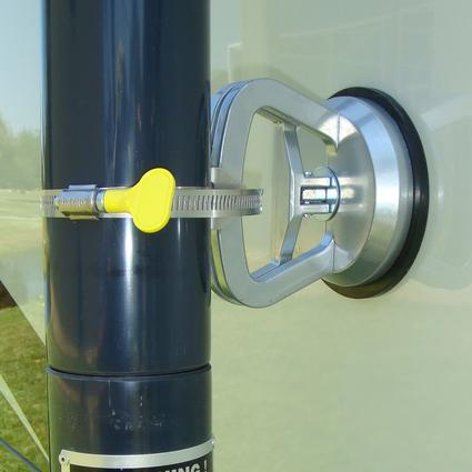 Generator Stack Extension Suction Cup Mounts