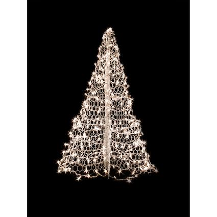 3' White Tree with 200 Clear Lights
