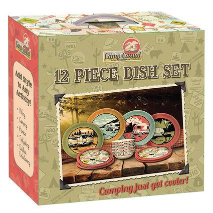 Camp Casual Dish Set