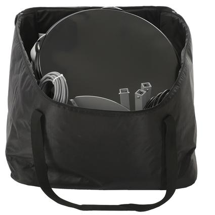 Portable X2 Satellite Antenna Storage Bag