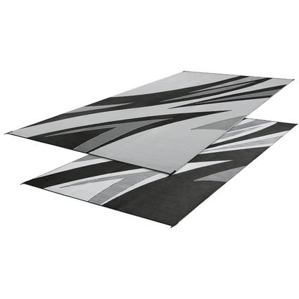 Reversible Summer Waves Mat 8' x 16' - Black