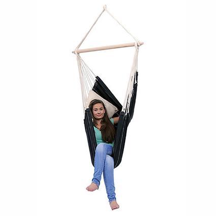 Brazil Hanging Chair, Black