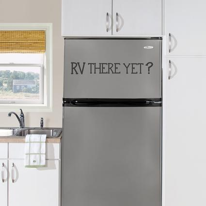 Removable Wall Decor - 'RV There Yet?'