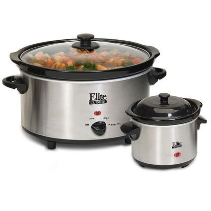 Elite Cuisine 5 Quart Slow Cooker