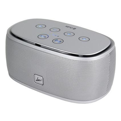 Lyrix Rush BlueTooth Speaker- Silver