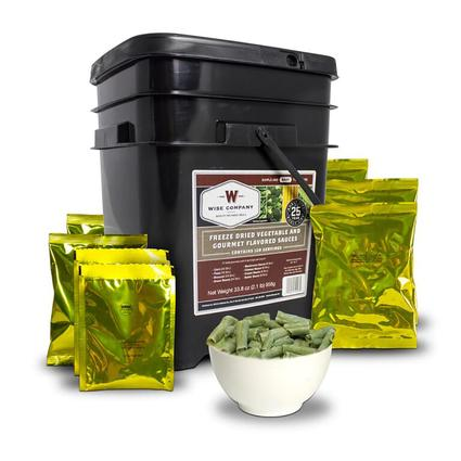 120 Servings Freeze Dried Vegetable Kit