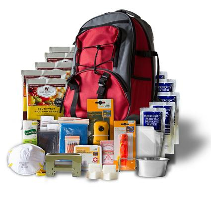 5 Day Red Survival Back Pack