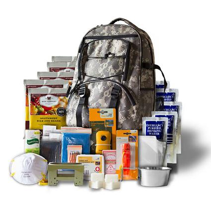 5 Day Camo Survival Back Pack