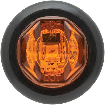 LED Uni-Lite Light and Grommet P2 Rated 1 diode Amber