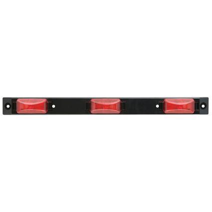LED Sealed Identification Light Bar; 3 sealed marker lights, 50