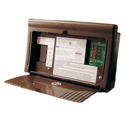 WFCO 8700 Series Power Center Converter/Charger & AC/DC Distribution, 25 Amps DC Output
