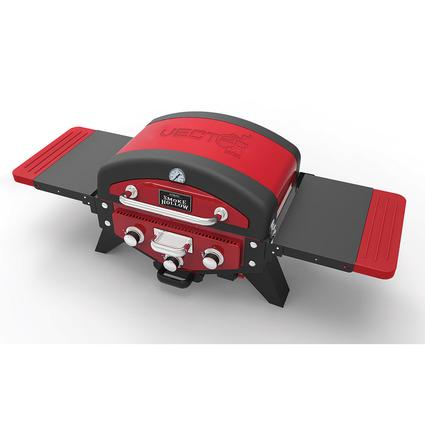 Vector Gas Tabletop Grill with Smoke Tray