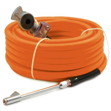 General Power Industrial Co. 3/8 x 50 Superflex Air Hose Orange